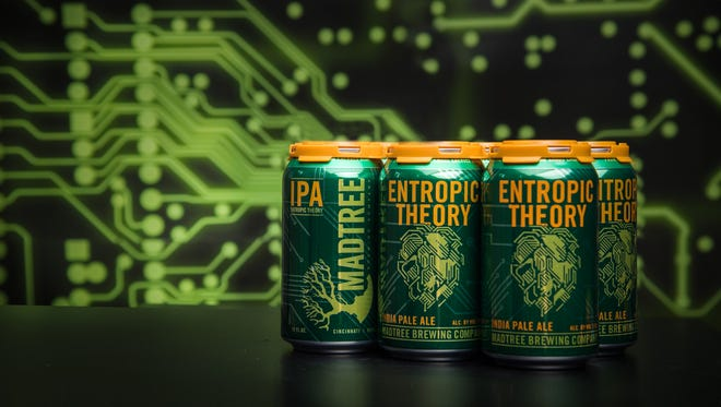 MadTree Brewing, partnered with iSPACE, will launch cans of their newest IPA, Entropic Theory, on Thursday.
