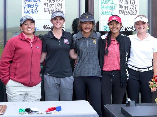 Jessica Stanton, Megan Gaskill, Megan Li, Lily Landt
