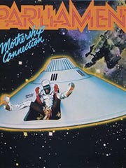 "Parliament's ""Mothership Connection"" cover."