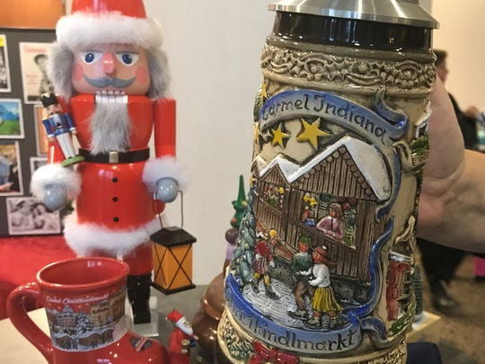 You may buy the Carmel stein at the city's Christkindlmarkt.