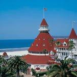 The iconic Hotel del Coronado near San Diego.
