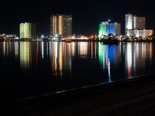 Pensacola Beach Light Pollution