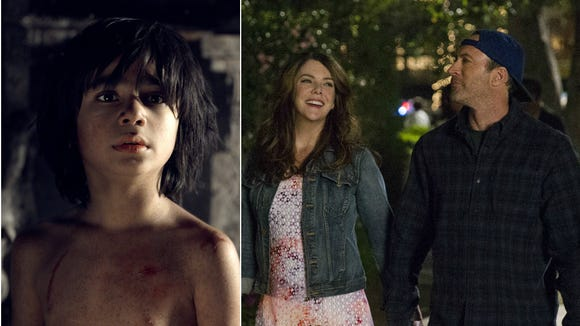 'The Jungle Book' and 'Gilmore Girls: A Year in the Life' are coming to Netflix in November.