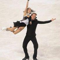 Novi's Madison Chock and partner Evan Bates won the Senior Dance title at the 2015 U.S Figure Skating Championships.