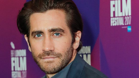 Jake Gyllenhaal, at the BFI London Film Festival on