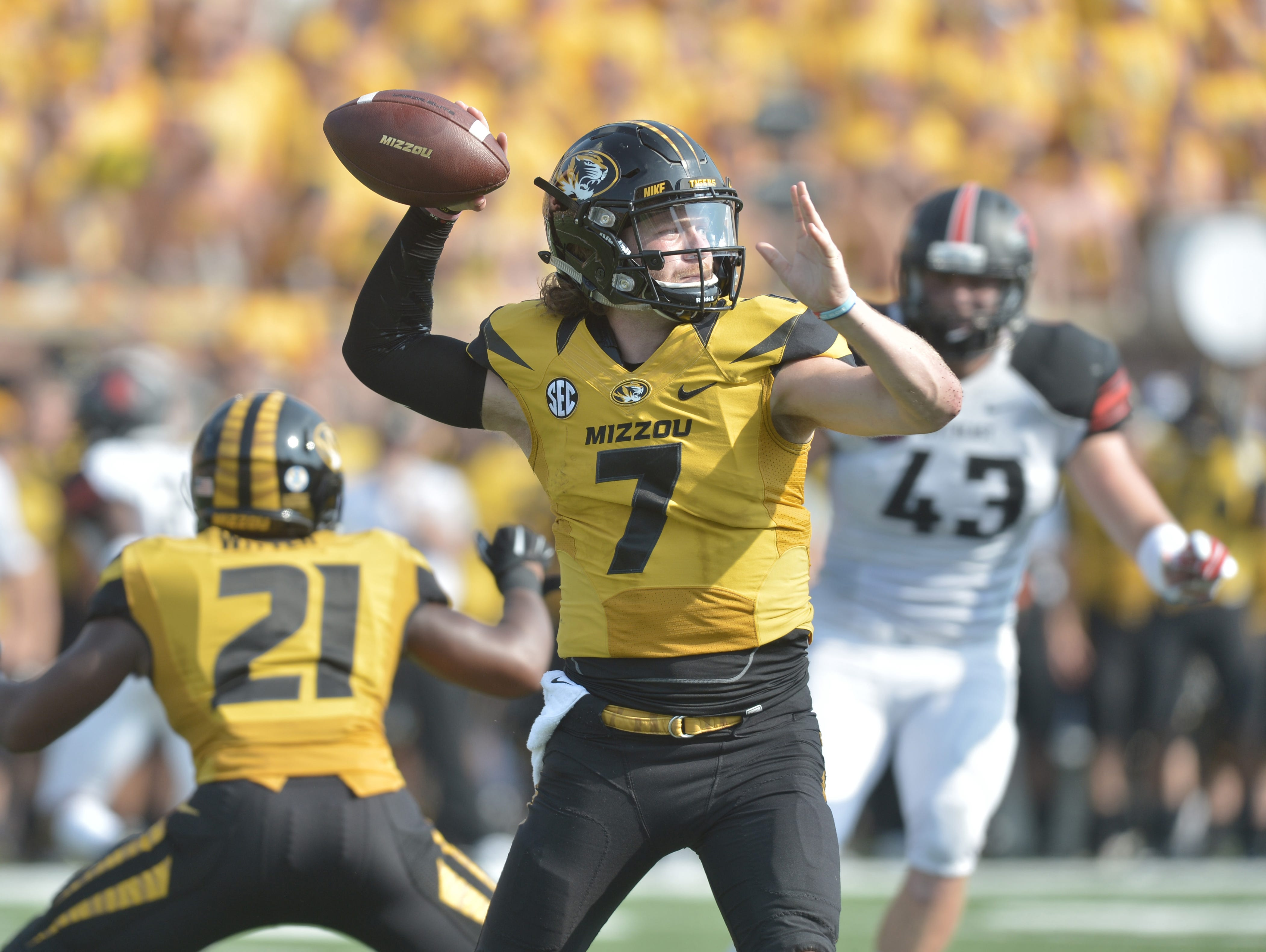 Things aren't going entirely smoothly for QB Maty Mauk and the Mizzou Tigers. But the road should get easier this week at Kentucky.
