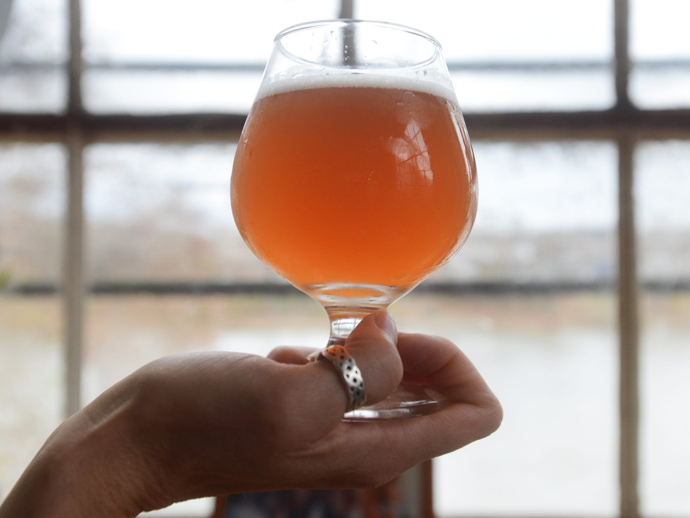 La Belette Rose, a Saison-style limited edition beer