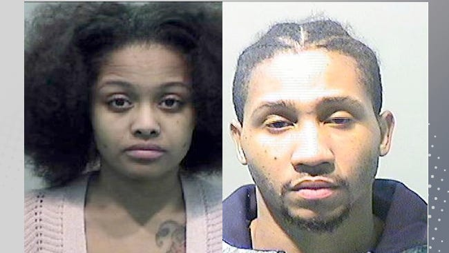 The Wayne County Prosecutor's Office has charged a husband and wife pair, Javontae Wakefield, right, and Amber Hunter, with first-degree murder over the mid-September homicide of Hunter's mother on Detroit's west side.