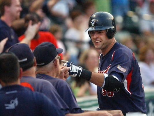 Chris Nowak will retire after hitting a combined 59 homers for the York Revolution during the last two seasons. (YDR file photo)