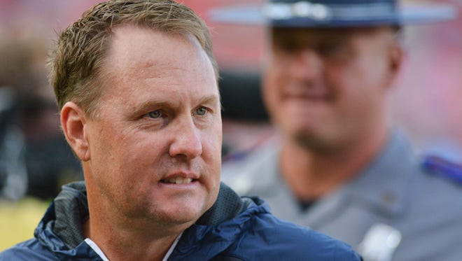 Hugh Freeze was head coach at Ole Miss for five seasons.