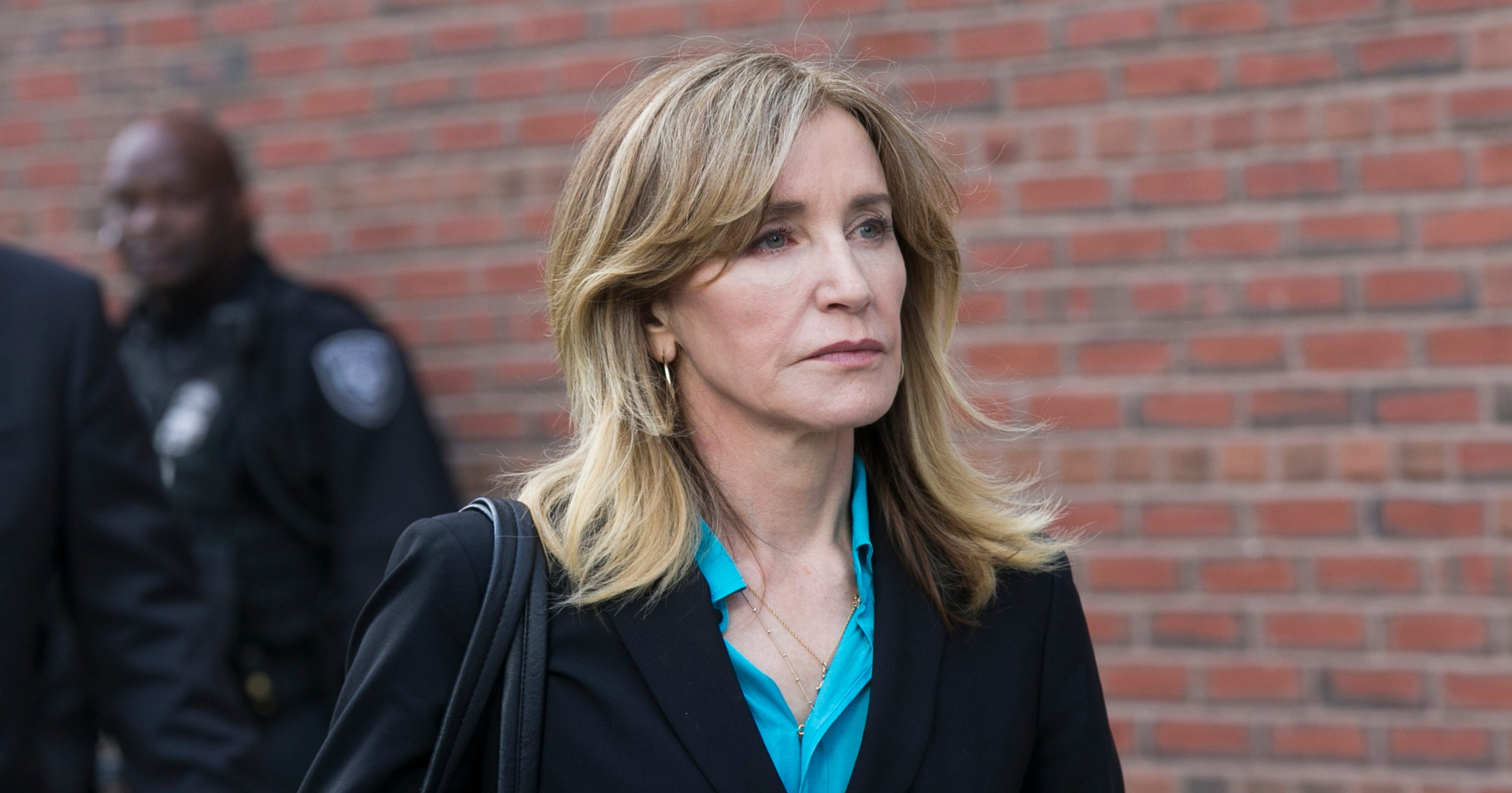Image result for Felicity Huffman could avoid jail time in college admissions scandal