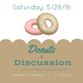 Donuts and Discussion logo