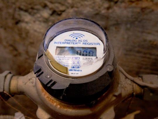 Water meter replacement.