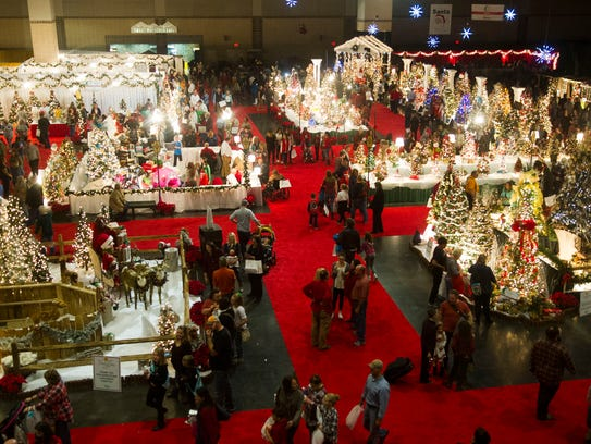 Attendees at the 32nd annual Fantasy of Trees benefiting