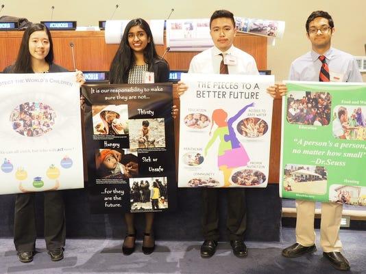 UN Poster winners