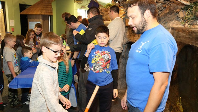David Lotto, one of SUNY Poly's Camp Programs Coordinators, works with young innovators curious about STEM.