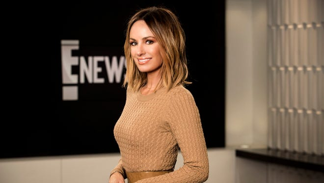 A former host of 'E! News,' Catt Sadler, says she left the network after learning of a 'massive disparity in pay' compared to a male co-host.