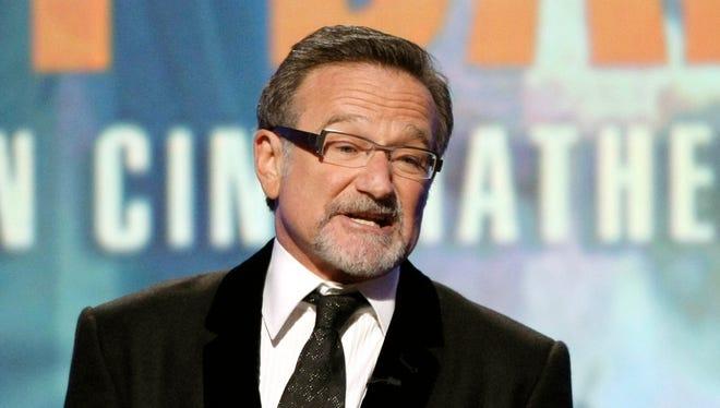 Robin Williams in 2010.