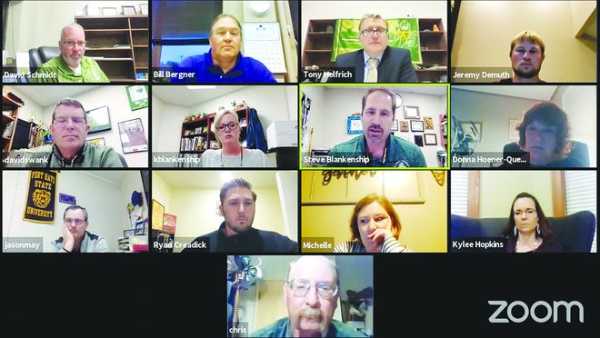 USD 382 Board of Education members met online earlier this month to formulate education plans for summer school and discuss the budgetary impact of COVID-19.