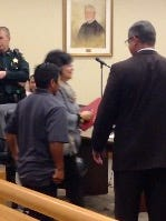 """Antonio Juarez appeared in court Wednesday. He is accused of """"marrying"""" a 13-year-old when he was in his mid-20s."""