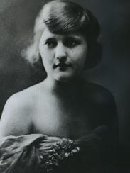 This portrait of Zelda Fitzgerald was taken about the