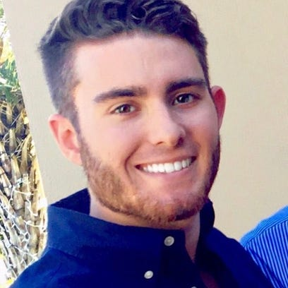 Andrew Coffey, Pi Kappa Phi  Fraternity pledge who