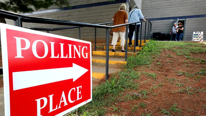 SportsCom is one of seven early voting sites in Rutherford County for the Nov. 6 elections.