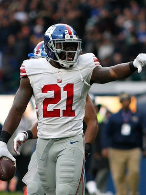 Giants safety Landon Collins returned a game-breaking interception for a touchdown against the Rams in London last season. The rejuvenated Los Angeles offense under head coach Sean McVay comes to MetLife Stadium on Sunday.