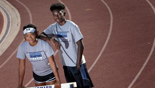 Chapin hurdler Shailah Thornton and triple jumper Darius King will compete this weekend at the state track meet in Austin.