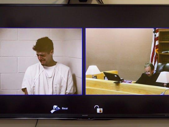 Matthew Jordan Carrier shows emotion as Magistrate