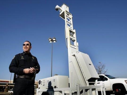 SkyCop surveillance cameras