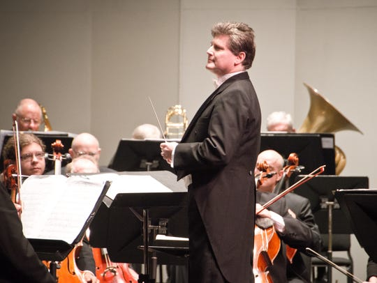 Andrew Kurtz and Gulf Coast Symphony. Kurtz is founder,
