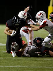 SPASH senior running back Colton Kizewski rushed for 218 yards and two touchdowns in a 21-17 win over Wisconsin Rapids on Oct. 6 as the Panthers continued a late-season push for a WIAA playoff berth.