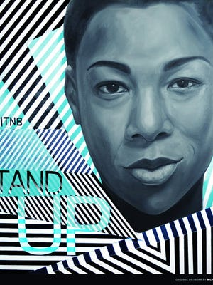 "This image released by Netflix shows an art piece featuring ""Orange is the New Black"" character Poussey Washington, portrayed by actress Samira Wiley, to promote the fifth season of the series which starts June 9. Netflix has commissioned artists in New York, Chicago, Los Angeles, Detroit, Toronto, Sydney and Melbourne to paint murals of character Poussey Washington as both a tribute to her and a tease for the upcoming fifth season of the prison series."