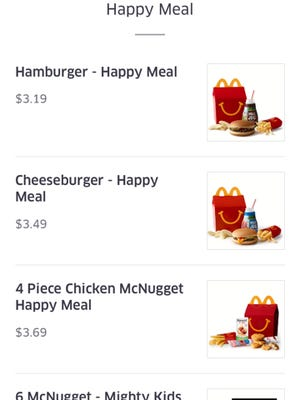 McDonald's McDelivery begins Friday.