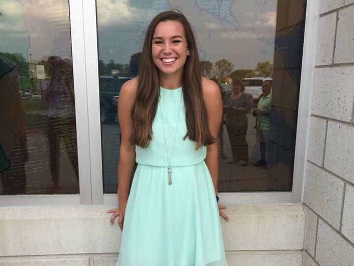 Officials are searching for Mollie Tibbetts, 19. Tibbetts
