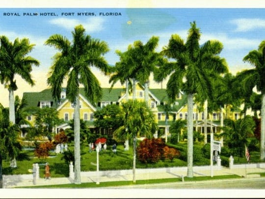 A 1920s postcard from the Royal Palm Hotel by the E.C. Kropp company of Milwaukee.