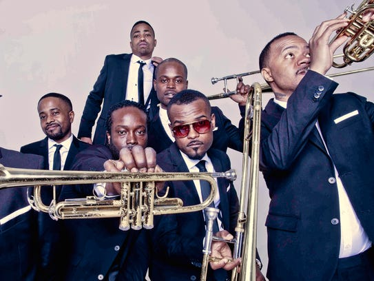 The Hypnotic Brass Ensemble will perform Oct. 27 as
