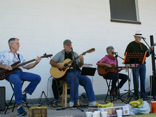 The Friends & Neighbors Band provided entertainment