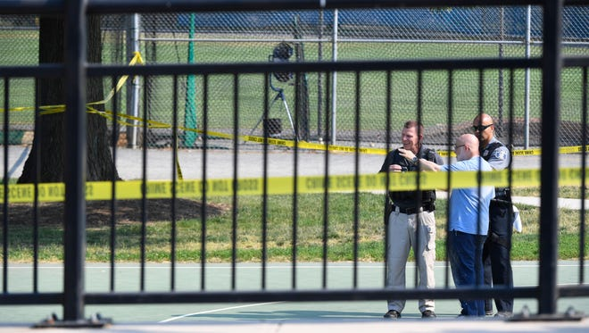 A gunman opened fire on a Republican congressional baseball team practicing on a suburban Virginia field wounding Louisiana congressman Steve Scalise and at least four others.