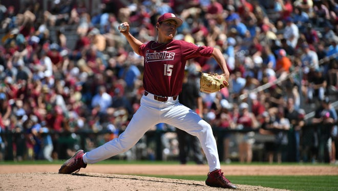 C.J. Van Eyk excelled out of the bullpen for Florida State in Saturday's loss to Louisville