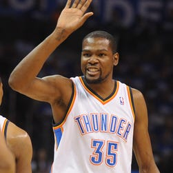 Oklahoma City Thunder forward Kevin Durant has been offered a big shoe contract from Under Armour.