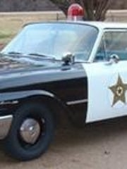 A 1961 Ford Fairlane, which is a replica of the squad car used on the second season of 'The Andy Griffith Show,' will be on the UofM Lambuth campus every Friday (weather permitting) during the spring semester. The car will be in the parking lot behind the library on West King Street.