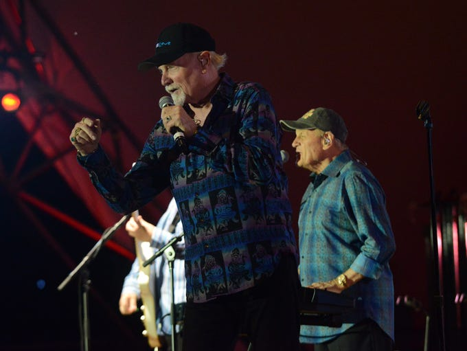 The Beach Boys performed with the Lancaster Festival