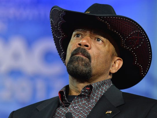 Milwaukee County Sheriff David A. Clarke Jr. said he