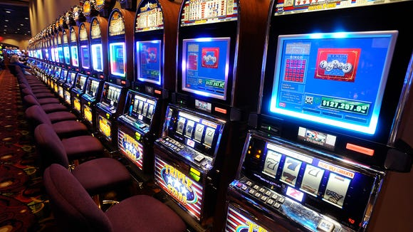 Electronic bingo machines at VictoryLand in Shorter,