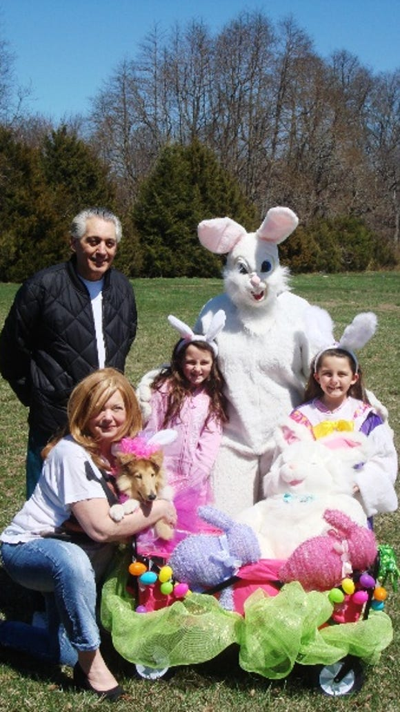 Photo admitted to Easter photo contest.