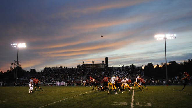 Thom Field is home to the Wausau East and Wausau West football teams and could have the addition of a video scoreboard next fall.