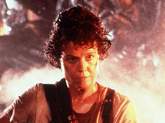"""Sigourney Weaver is upset and on a mission in """"Aliens."""""""