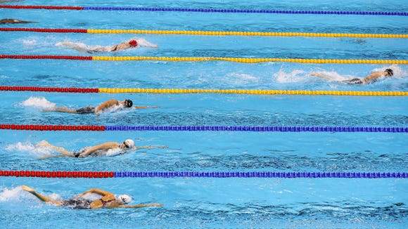 Why Katie Ledecky decided to become a pro swimmer now